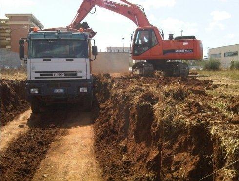 Movimento terra, impresa costruzioni
