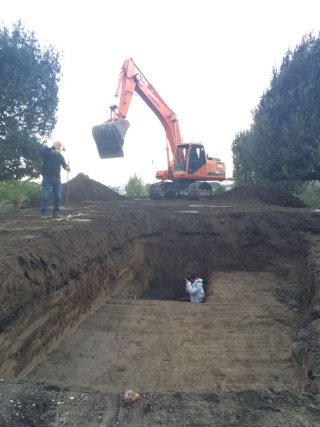 lavori archeologici
