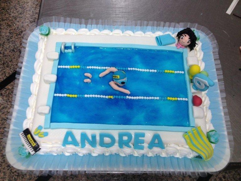 Torta Nuoto