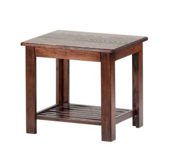 Hardwood End Table. Canadian Made! Hand assembled, hand stained. Available to match your bed or futon. Standard