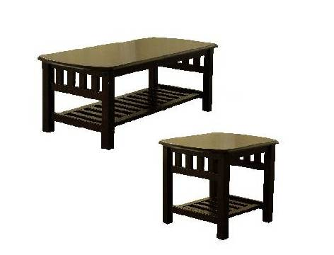 Plus Trading - Montana Coffee Table / End Table.Available in Java finish. Plus Trading is located in Markham Ontario