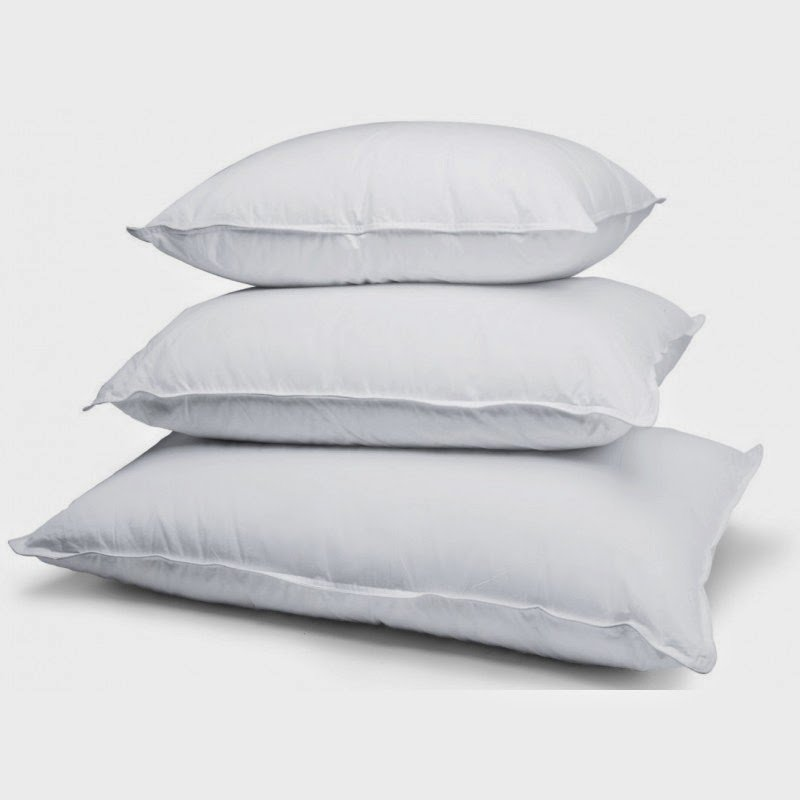 Stamina Fibre Pillows.Canadian Made pillows. Great Reviwews, 3 year warranty. Washable and dryable. Standard, Queen and King