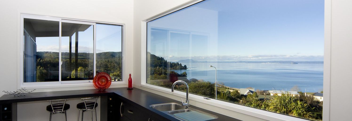 Kitchen built by building services in Taupo