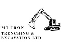 Mt Iron Trechinng & Excavation Ltd LOGO