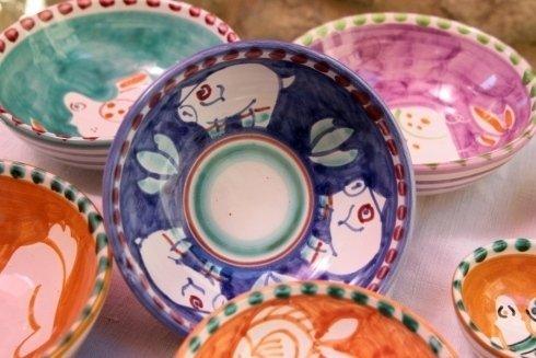 ceramiche dipinte a mano vietri