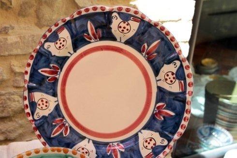 piatto vietri pitturato a mano