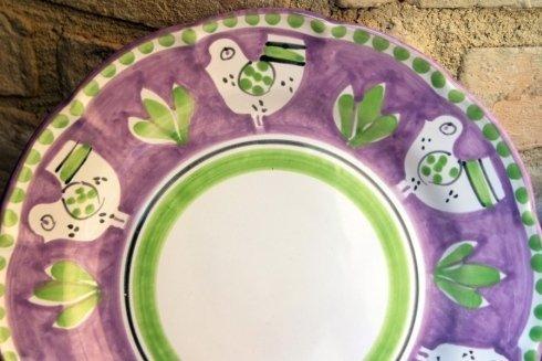 piatto ceramica vietri sul mare