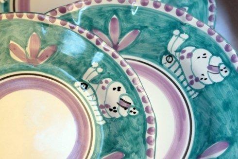 servizi piatti in ceramica vietri sul mare