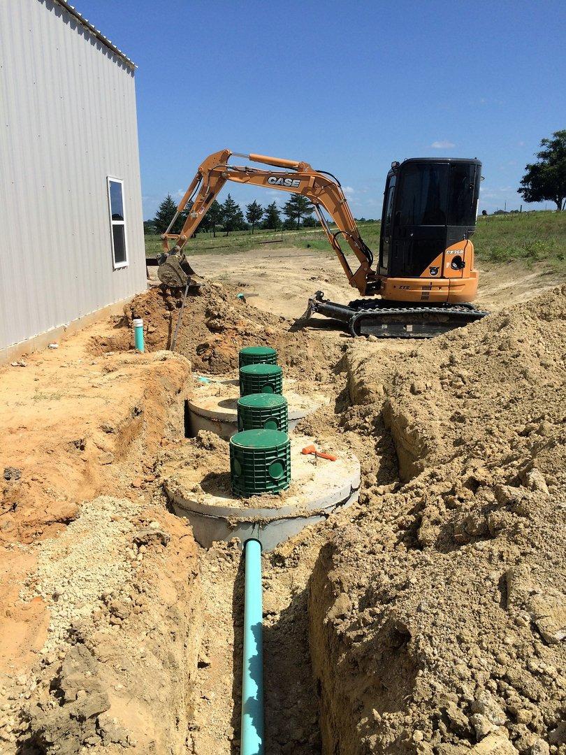 Septic System Installation Brenham, TX
