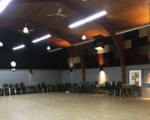 Interior of Cosmo Senior Center