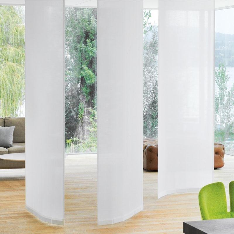 Flex nuovo sistema di tende a pannelli curvabile