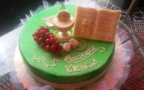 torta personalizzata comunione