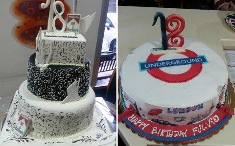torte personalizzate 18 anni