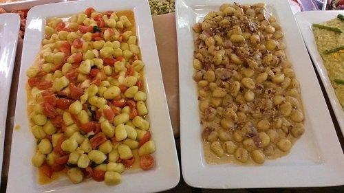 Di piatti pronti a base di gnocchi