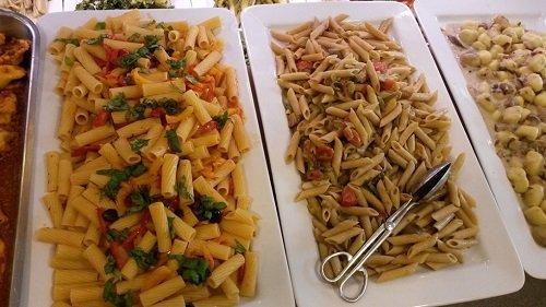 Dei piatti a base di pasta e gnocchi