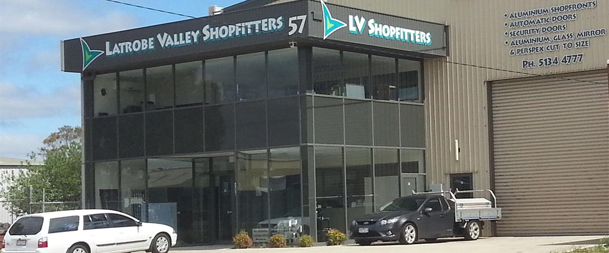 Latrobe Valley Shopfitters Office Building