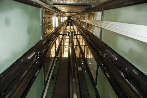 valvola di blocco ascensore