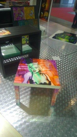 Stampa su tavolino