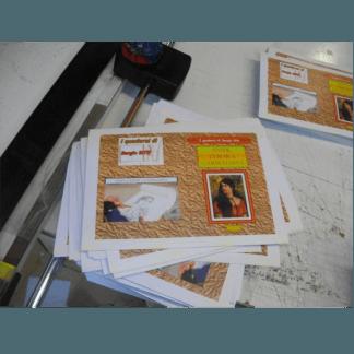 Brochure a colori
