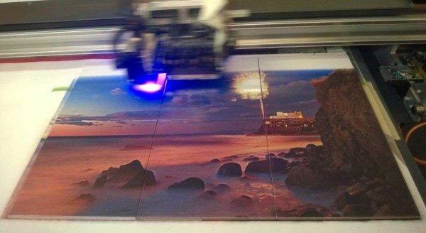 Stampa su mattonelle 20x20 componibile per tavolini o per parete