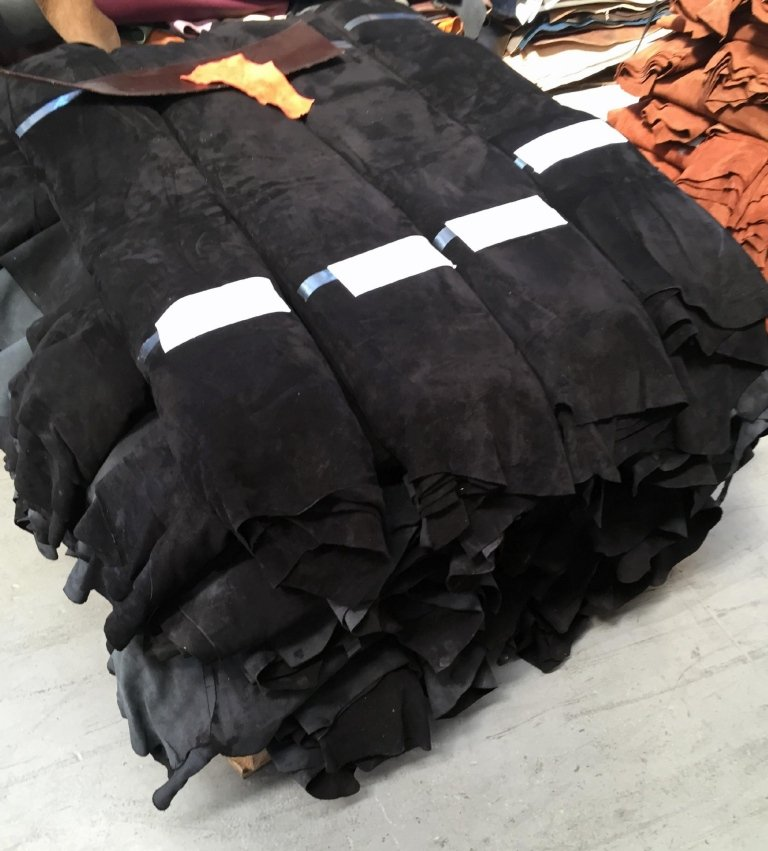 Leather in stock