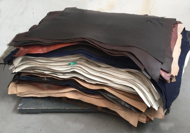 Sale of leather stock