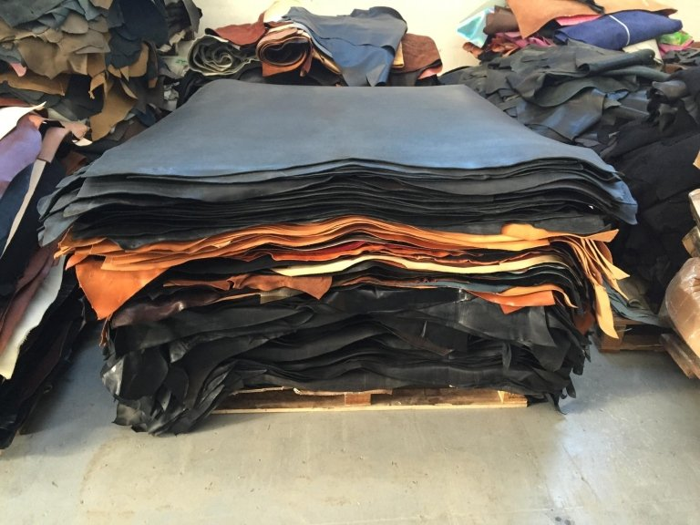leather for belts in stock