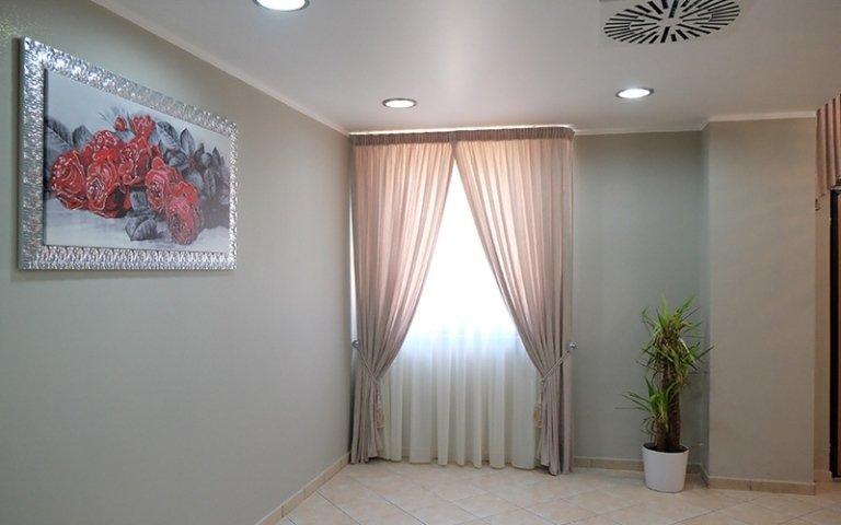 sala di una agenzia funebre