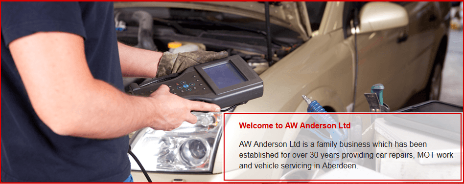 For a high quality garage in Aberdeen call AW Anderson Ltd