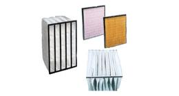 Celle filtranti per aria, efficienza di filtrazione F5/F6/F7/F8/F9
