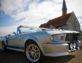 Mustang hire - Maldon, Essex - G.C. Wilson & Co - Mustang