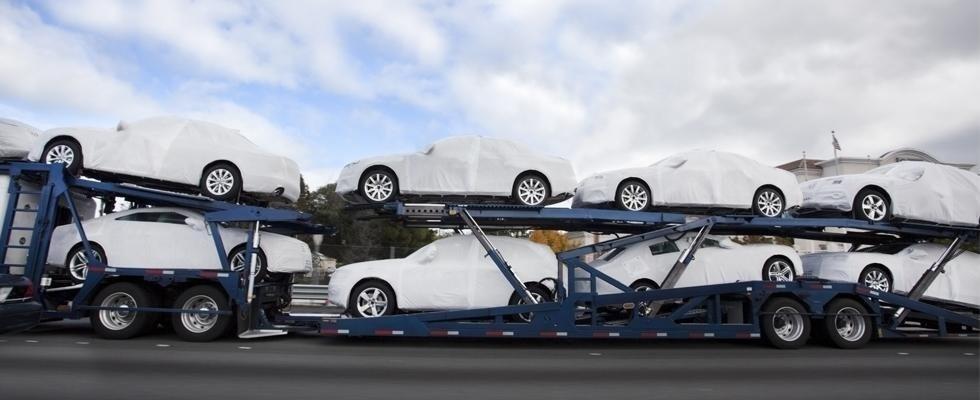 trasporto autovetture su bisarca