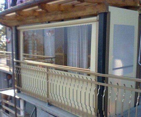 pvc 650 gr con finestra  cristal