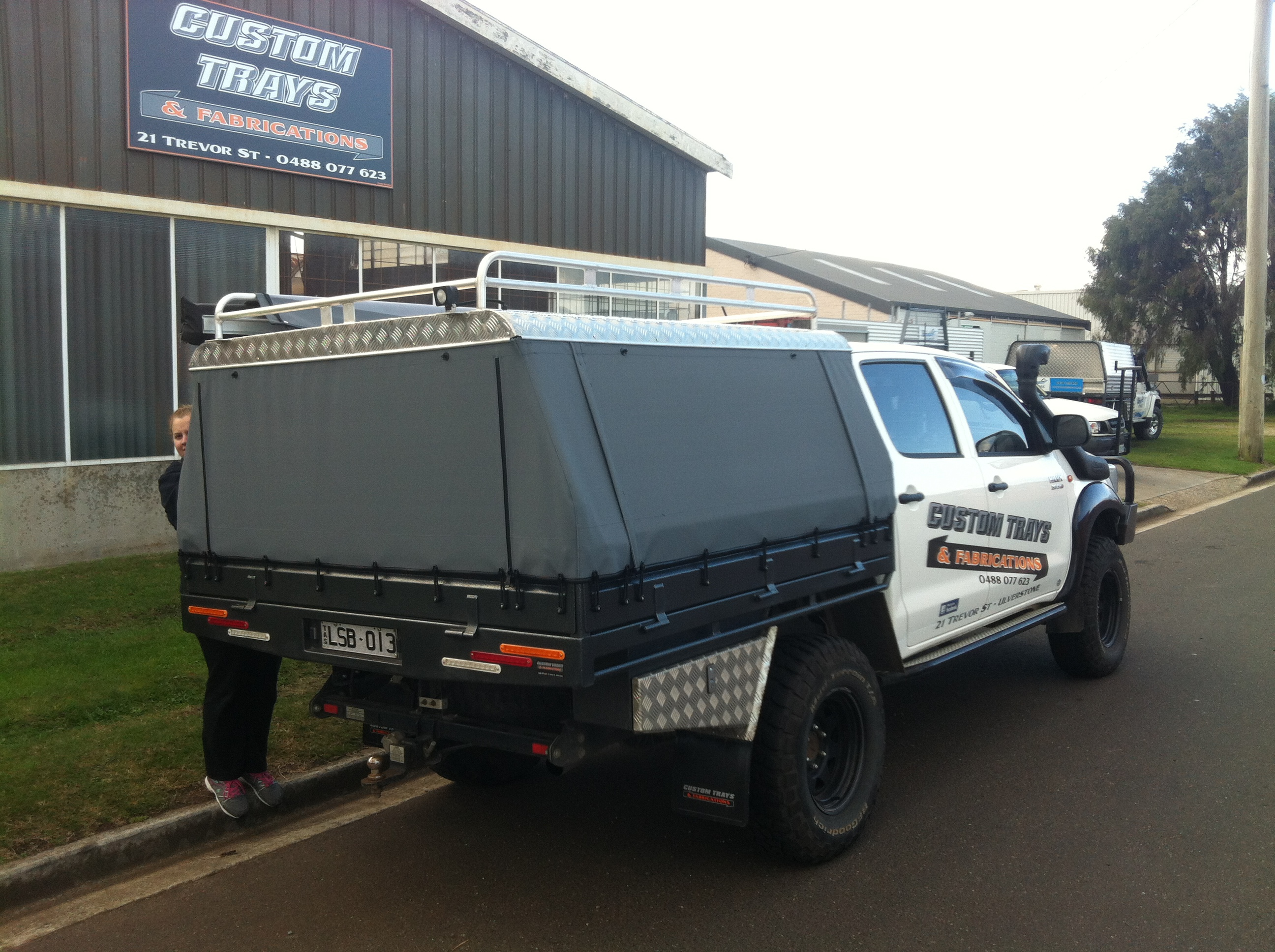 Canvas ute canopy frame images - Canvas canopy ...