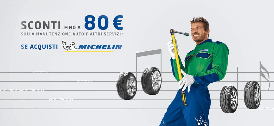 Promozione pneumatici Michelin