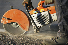 Concrete cutting in Hawke's Bay