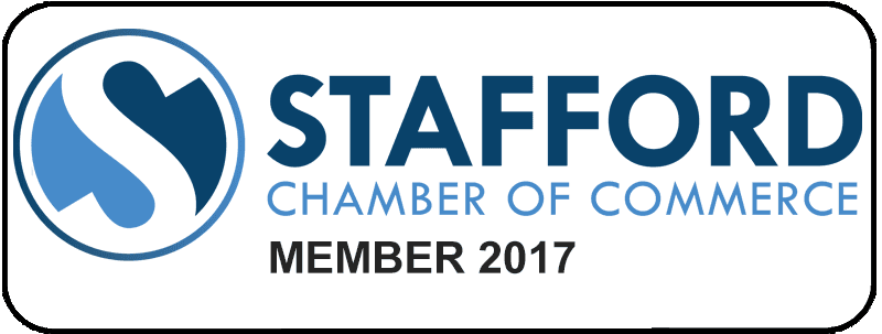 Proud to be a Member of the Stafford Chamber of Commerce