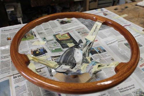 volante in legno