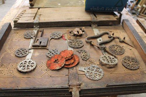 oggetti da restaurare