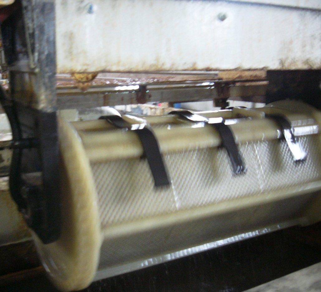 barile per la zincatura di minuteria - Galvanotecnica - Padova