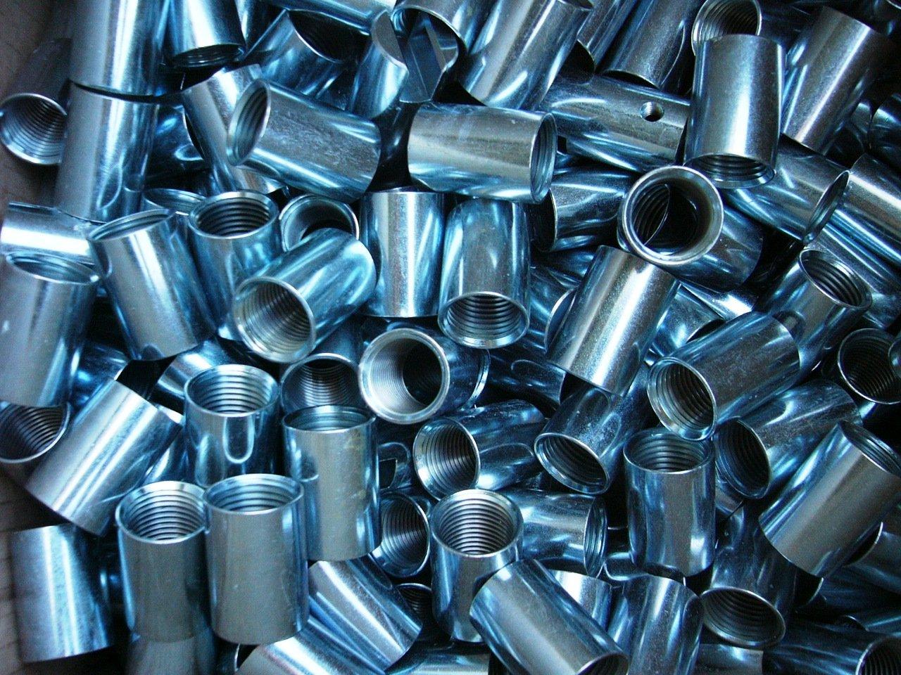 componenti di zincatura bianca a rotobarile