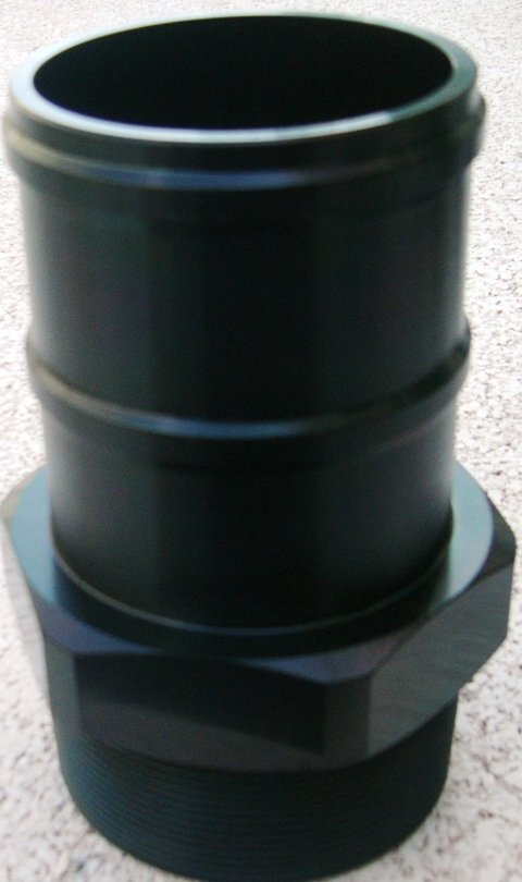 tubo di metallo nero