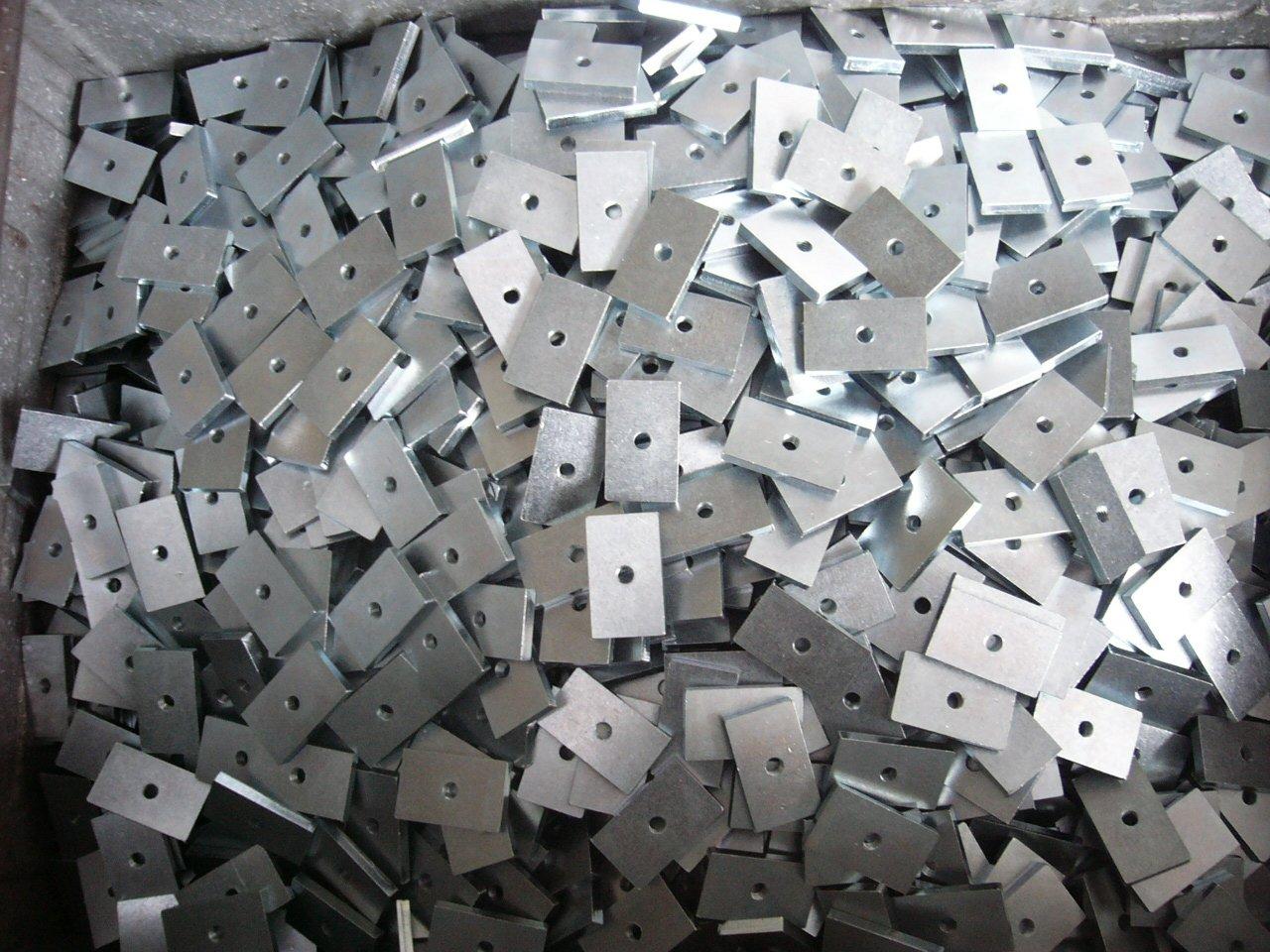 componenti di zincatura a rotobarile bianca trivalente