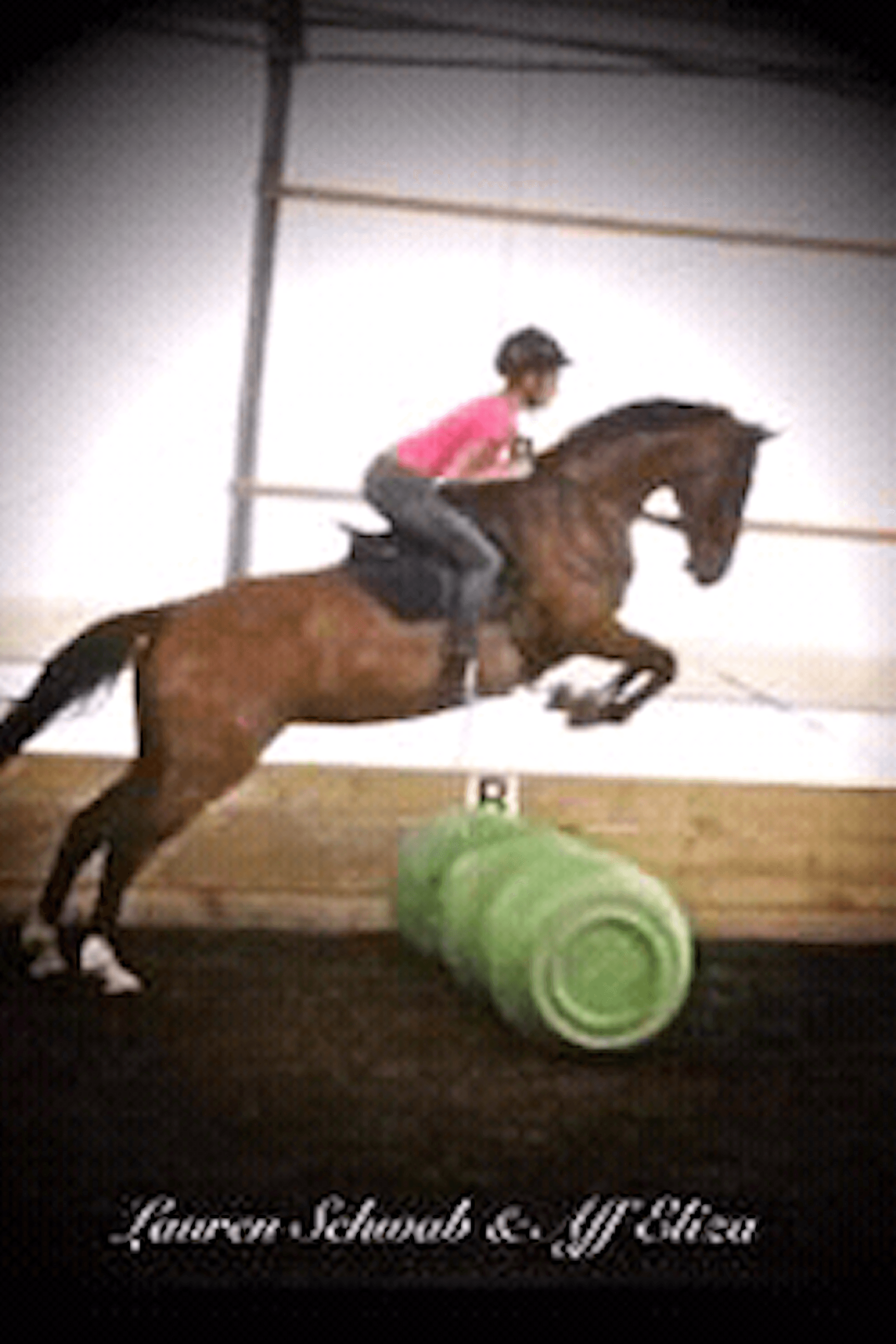 Rosebud Stable Campers learn to jump