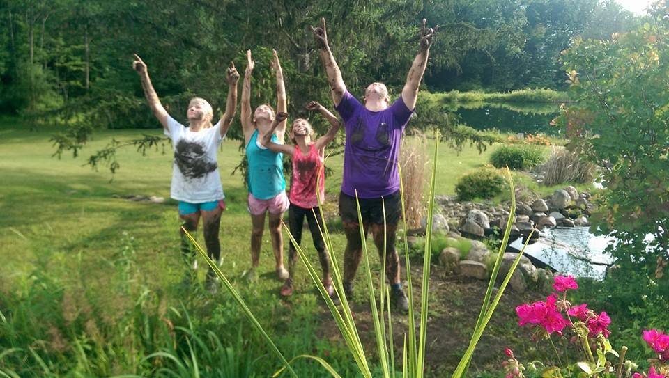 Rosebud Stable Campers enjoy Outdoors