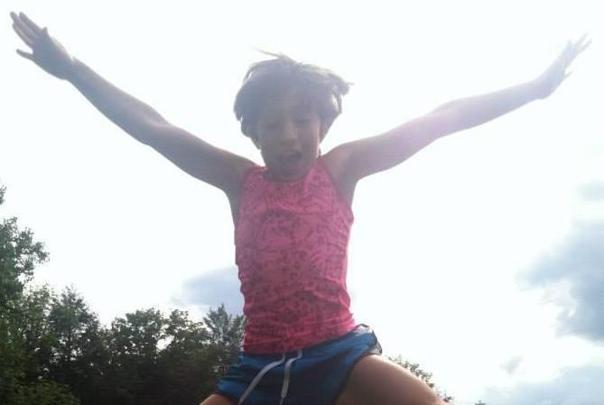 Rosebud Stable Summer Campers have fun