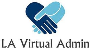 LA Virtual Admin Company Logo