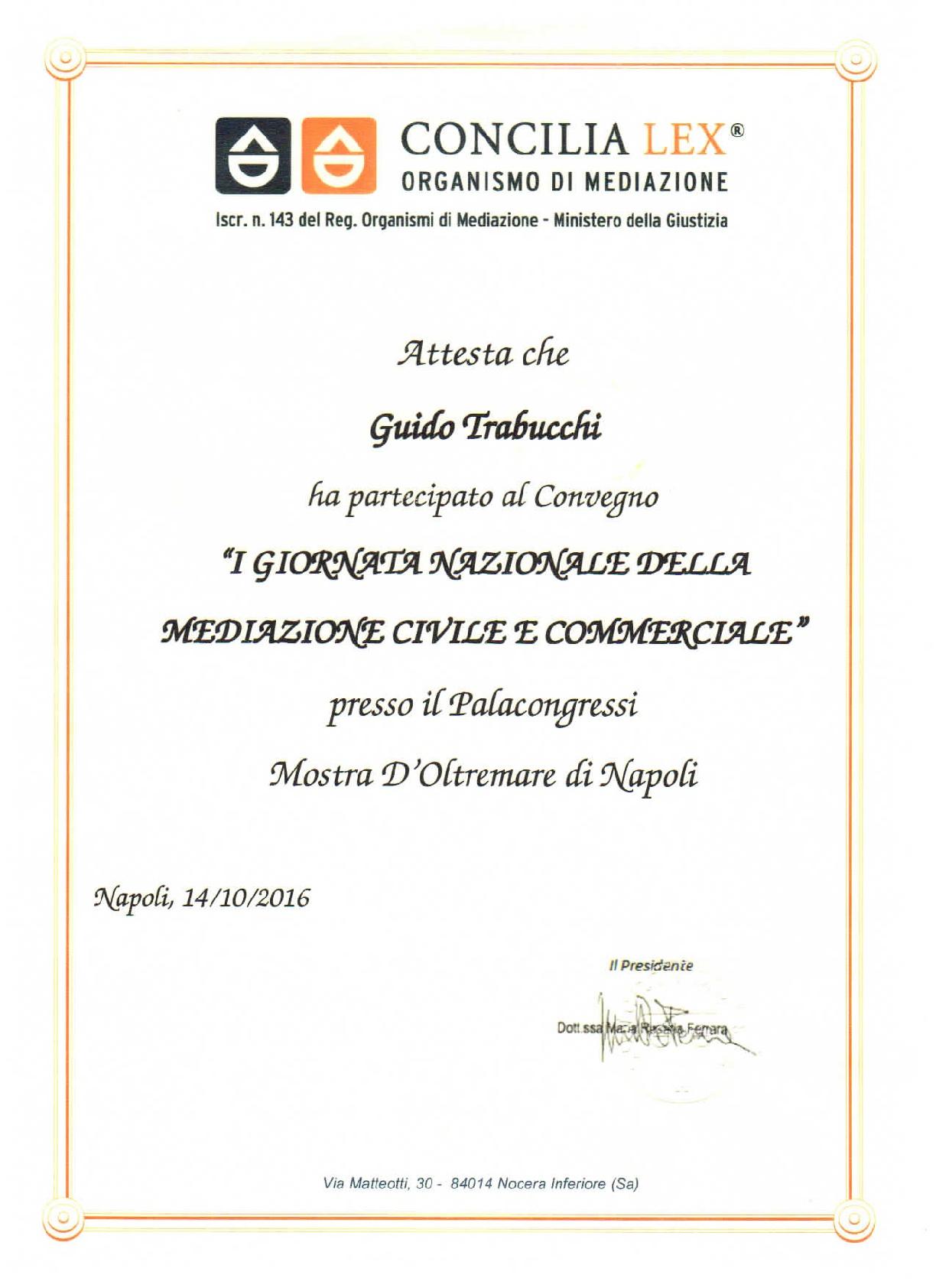 Invito ad evento sulla Mediazione civile