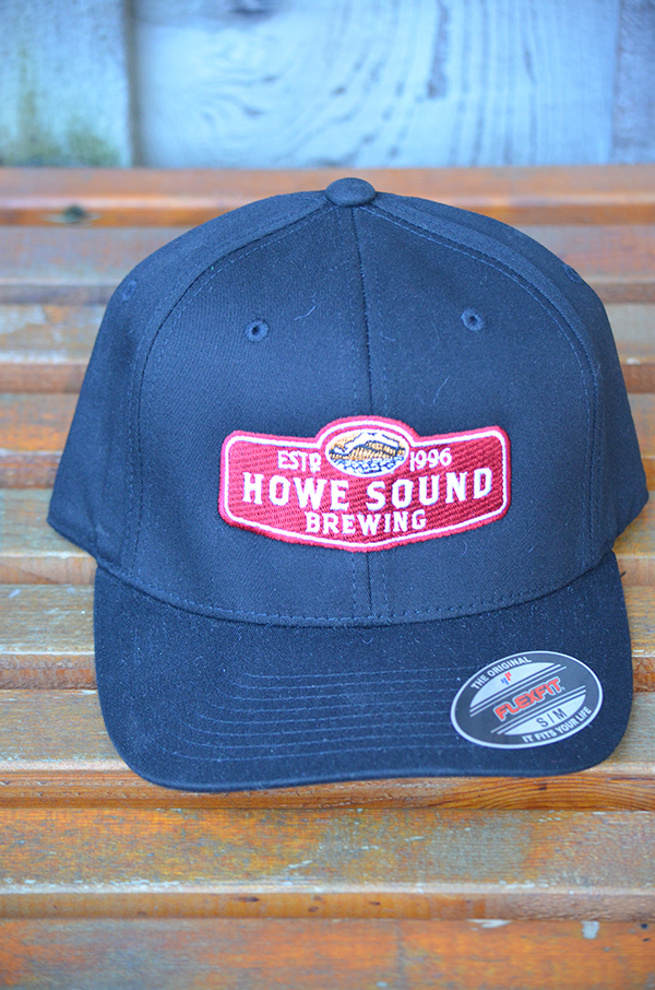 Black Howe Sound Baseball Cap (front) -$25