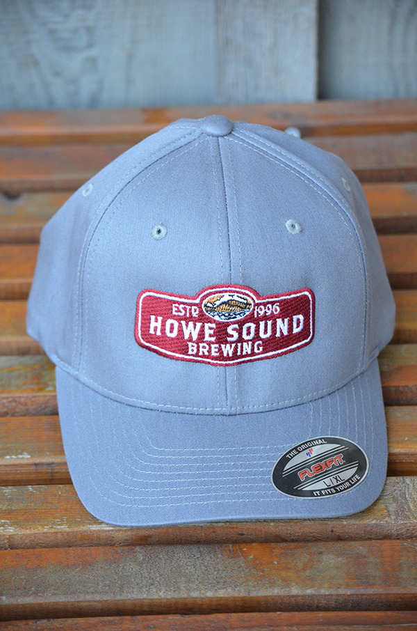 Grey Howe Sound Baseball Cap (front) -$25